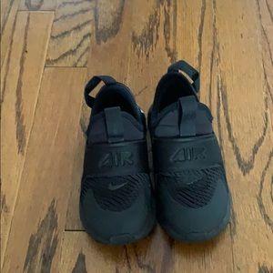 Boys Nike Air Black